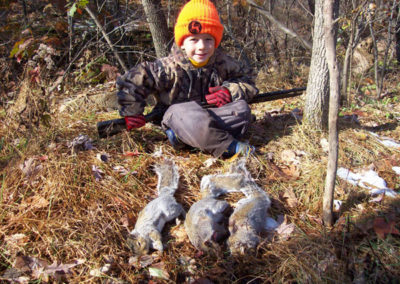 Cole McLaughlin, Mentor youth hunt with his dad, Northampton Co.